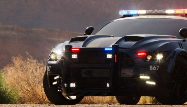 The Decepticon Barricade Returns for Transformers: The Last Knight
