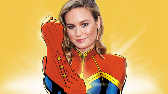 Brie Larson Confirmed to Play Captain Marvel