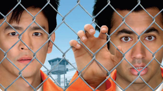 The John Cho movies list continues as Harold and Kumar Escape From Guantanamo Bay.