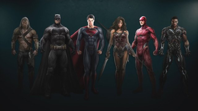 New Justice League Concept Art Revealed