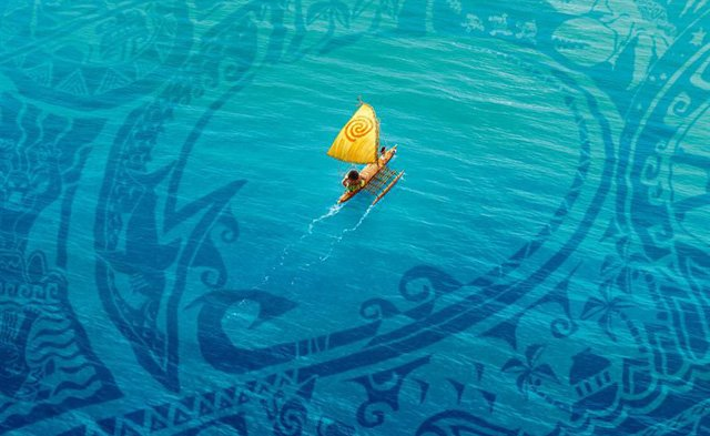 The New International Poster for Disney's Moana
