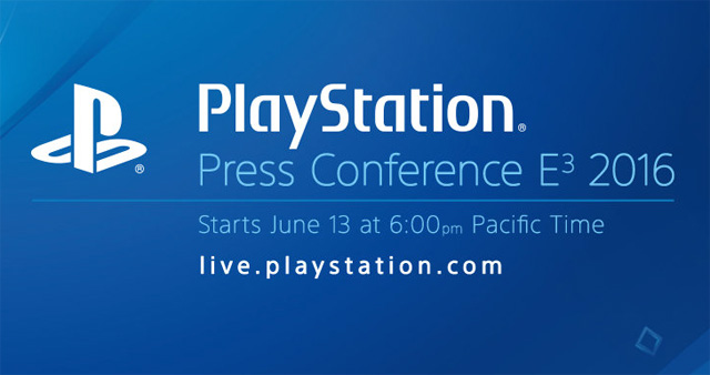 The PlayStation E3 2016 Press Conference Live Stream