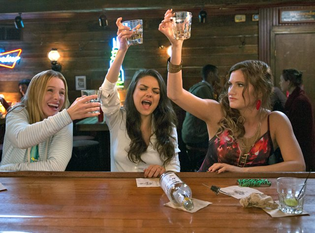 Mila Kunis & Co. Get Rowdy on the Set of Bad Moms