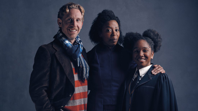 Ron, Hermione and Rose Granger-Weasley in Harry Potter and the Cursed Child!