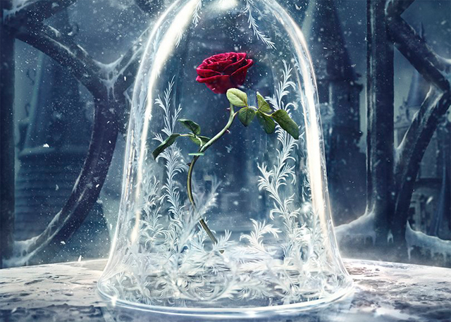 Disney's Live-Action Beauty and the Beast Poster is Here