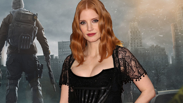 Jessica Chastain is set to headline The Division opposite Jake Gyllenhaal.
