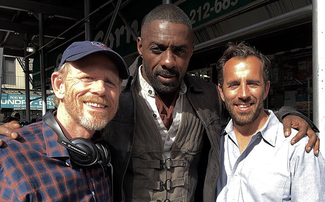Idris Elba is The Gunslinger on The Dark Tower Set