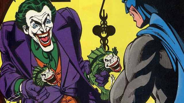 The Laughing Fish story is one of the most famous Joker comics.