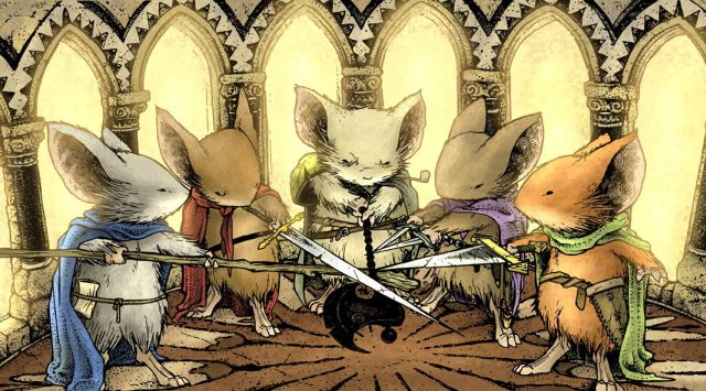 20th Century Fox Bringing Mouse Guard Movie to Life
