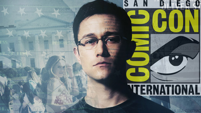 Oliver Stone is taking over SDCC's Hall H for a Snowden panel.