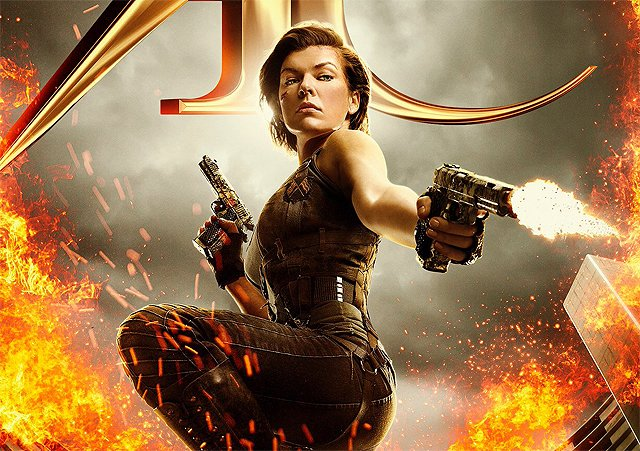 Resident Evil: The Final Chapter Poster Arrives Guns Blazing