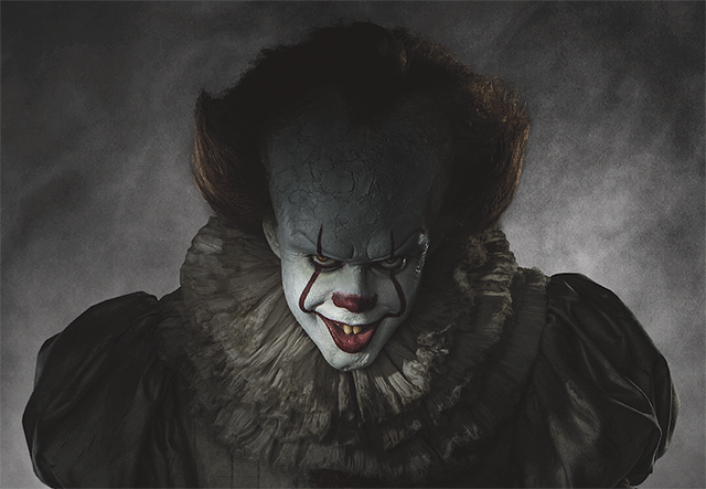See Pennywise in Full Costume From Stephen King's IT