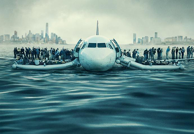 sully poster safely lands in the hudson river