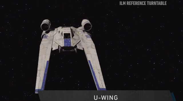 First Look at the U-Wing Ship from Rogue One Revealed