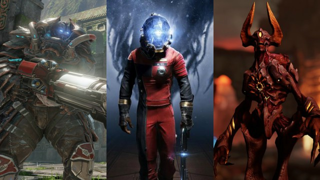 QuakeCon: Gameplay Trailers for Quake Champions, Prey, DOOM - Unto the Evil
