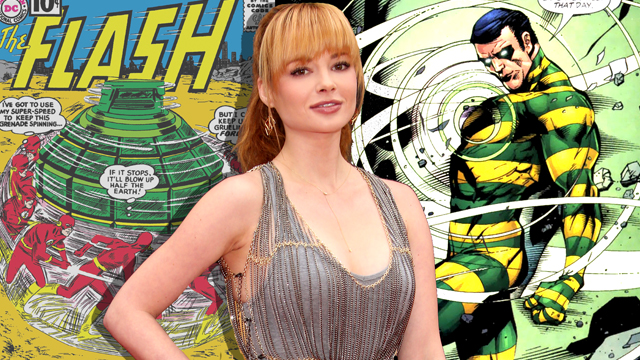 The Flash Sets Ashley Rickards as The Top