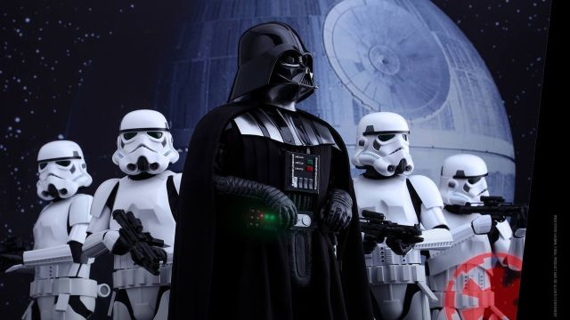 First Rogue One Hot Toys Revealed Including Darth Vader!