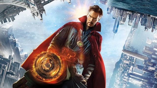 New Doctor Strange Poster Gets Topsy-Turvy