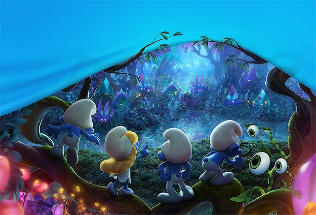 Smurfs: The Lost Village Poster Takes You to a Whole Blue World