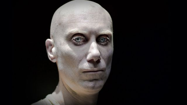 First Look at Stephen Merchant as Caliban in Logan