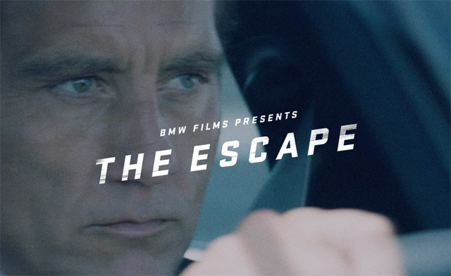 A new BMW short film has brought online! Watch The Escape, from Academy Award-nominated director Neill Blomkamp (District 9, Elysium) starring Clive Owen!