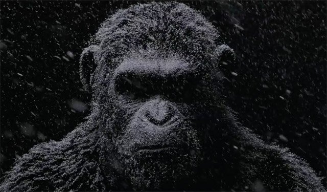 Resultado de imagem para the war of the planet of the apes