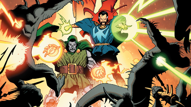 Here's one of those great Doctor Strange stories!