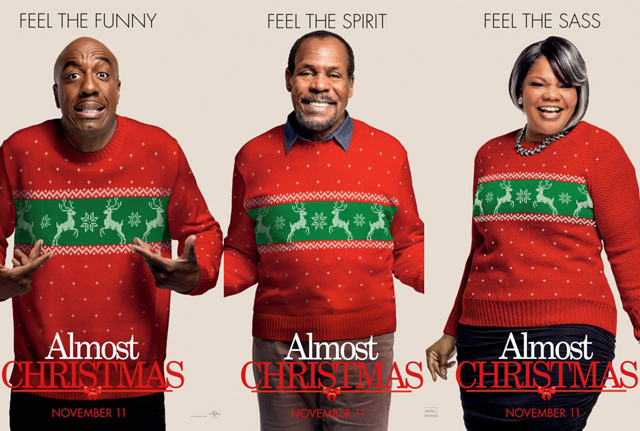 Almost Christmas Actor Omar.Almost Christmas Character Posters For Your Stockings