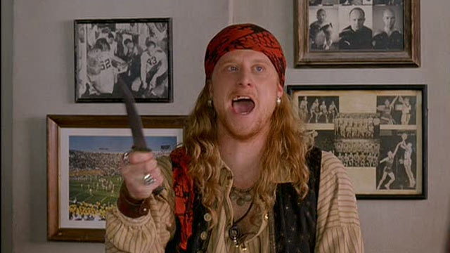 DodgeBall is one of the earliest Alan Tudyk movies.