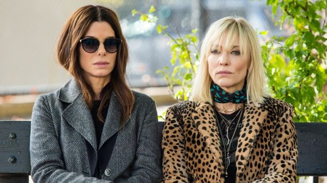 Sandra Bullock and Cate Blanchett are Scheming in New Ocean's 8 Set Photos