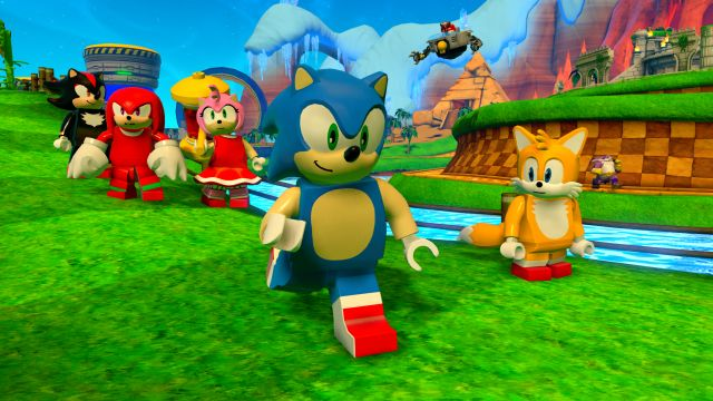 Sonic The Hedgehog Speeds Into Lego Dimensions