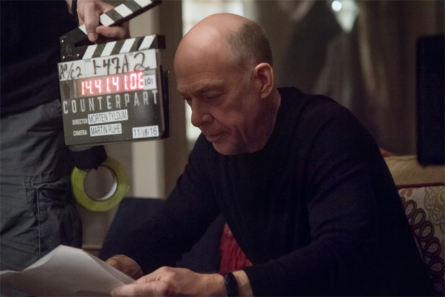 J.K. Simmons in First Photos From Starz Series Counterpart