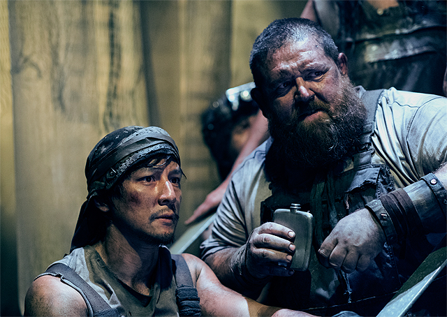 Into the Badlands Season 2 Photos Reveal Nick Frost & More