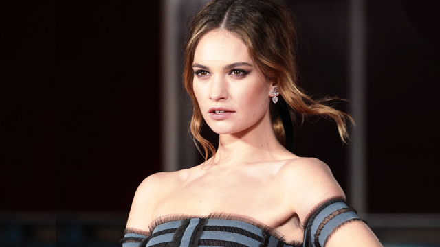Lily James to Headline The Guernsey Literary and Potato Peel Pie Society