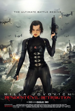 Resident Evil: Retribution offers the penultimate Resident Evil story.