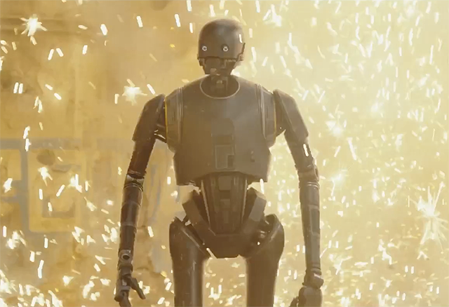 Rogue One Monday Box Office and a K-2SO Featurette