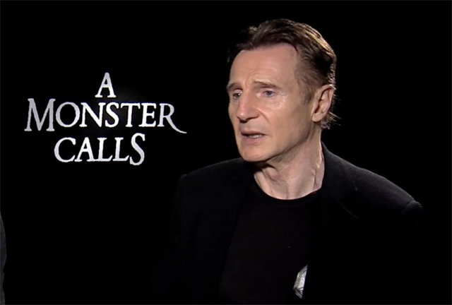 CS Video: Liam Neeson and the A Monster Calls Cast