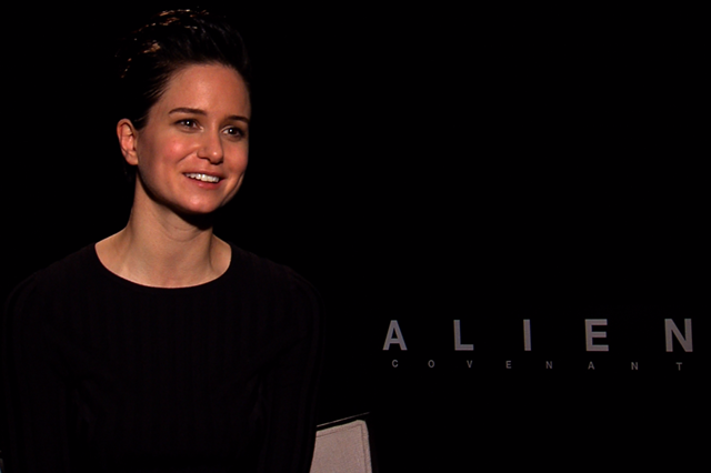 Video: Katherine Waterston Talks Alien: Covenant
