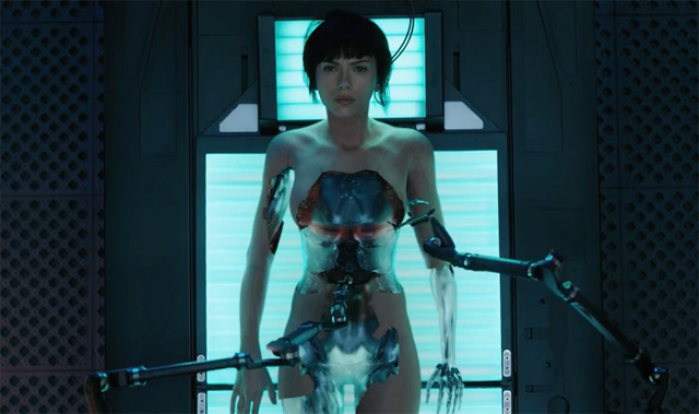 Exclusive Ghost in the Shell Featurette: The Major Comes Together in Shelling Scene