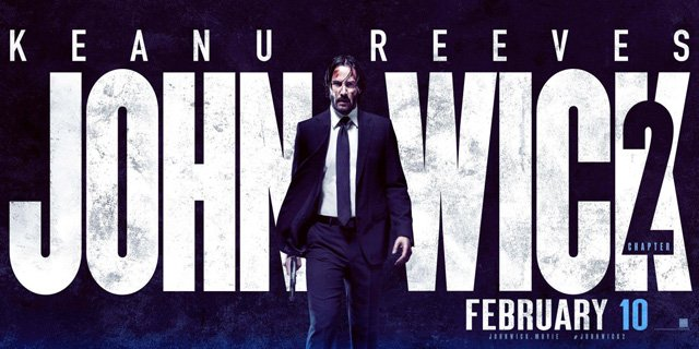 Keanu Reeves is Back in the New John Wick: Chapter 2 Trailer
