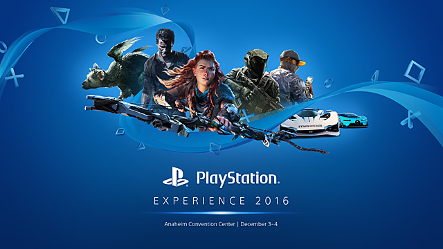 PlayStation Showcase Live Stream from PlayStation Experience 2016!