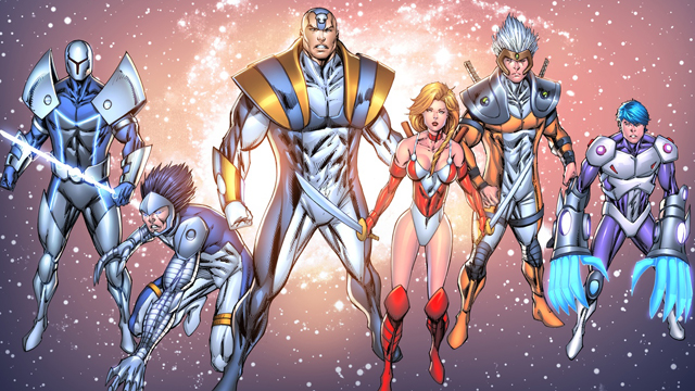 Plans are underway for movies set in Rob Liefeld's Extreme Universe.