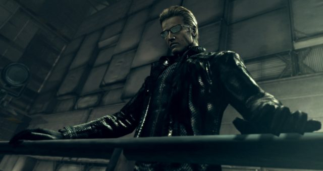 Wesker is one of the Resident Evil bosses who appears in both the games and the film series.