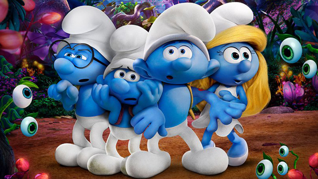 We take a look back at the Smurfs franchise before The Lost Village opens on April 7. What's your favorite aspect of the Smurfs franchise?
