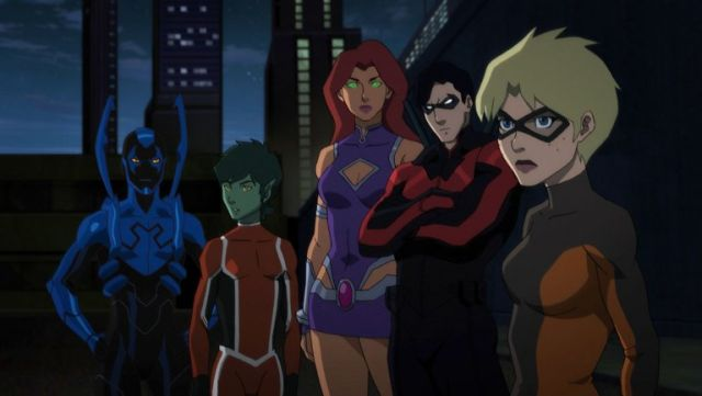 First Look at WB Animation's Teen Titans: Judas Contract, Cast Revealed