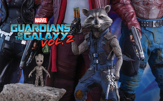 Hot Toys Teases Guardians of the Galaxy Vol. 2 Collectibles
