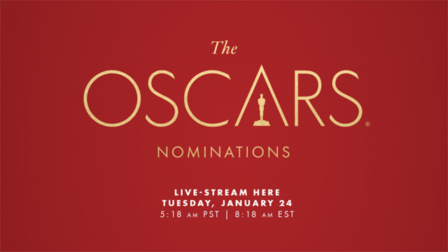 The 89th Oscars Nominations Live Stream