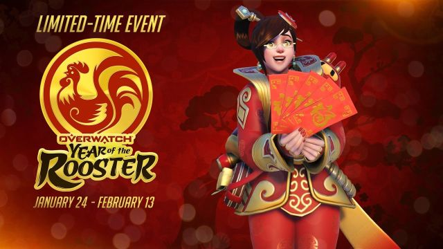 Overwatch Year of the Rooster Event Trailer Debuts