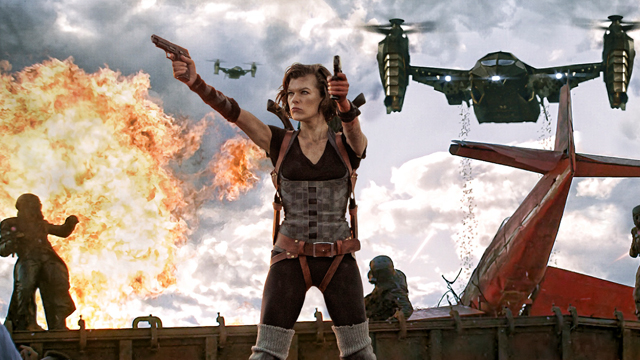 The Resident Evil story is nearly at an end in Retribution.