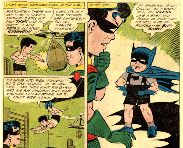 You can see why this is one of the oddest Batman stories ever.